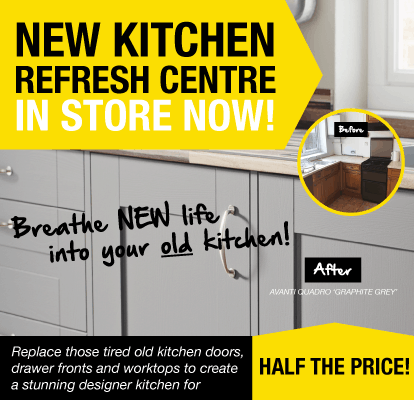New Kitchen Refresh Centre In Store Now