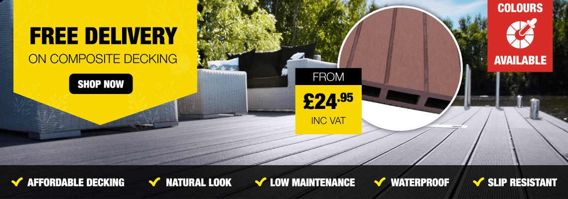 Free Delivery On Composite Decking