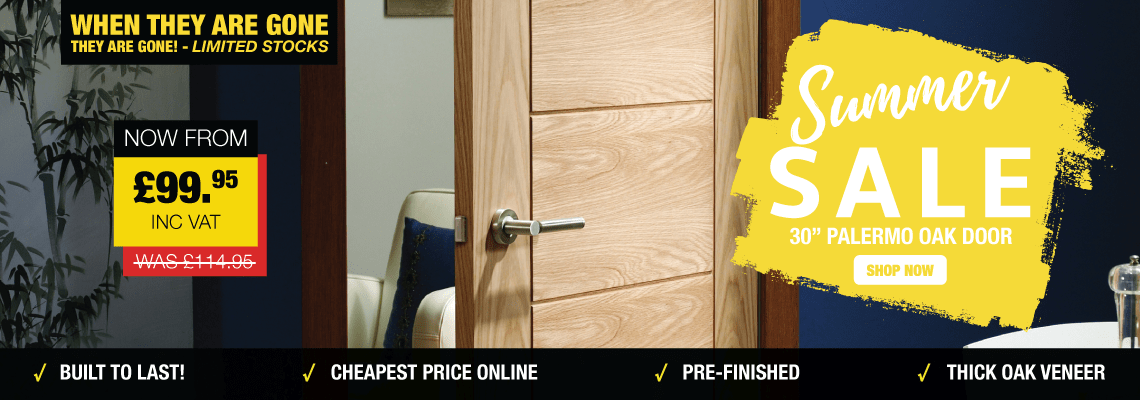 Summer Sale | Palermo Oak Door