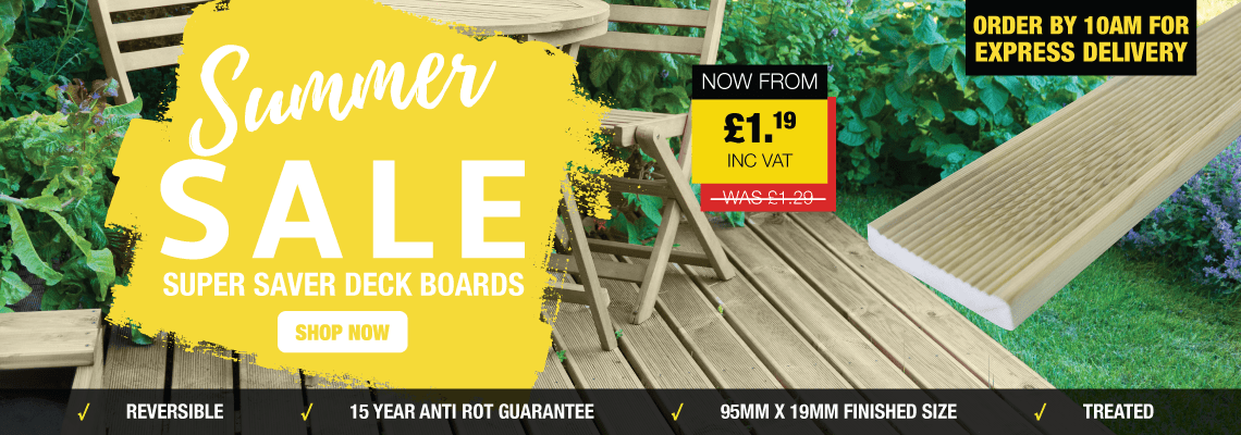 Summer Sale | Super Saver Deck Boards
