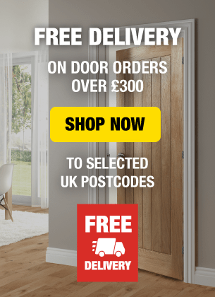 Free delivery on door orders over £300