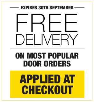 Free Delivery On Most Popular Doors Orders
