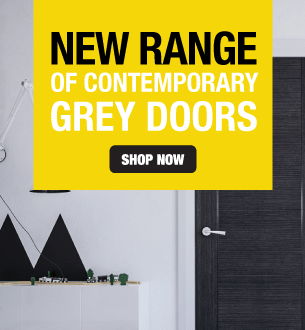 New Range Of Contemporary Grey Doors
