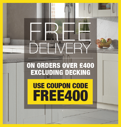 Free Delivery On All Orders Over £400