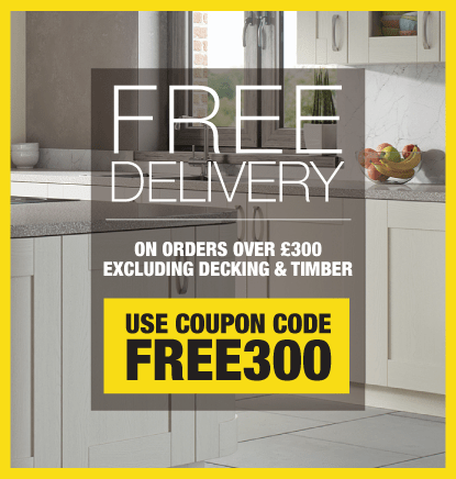 Free Delivery On All Orders Over £300