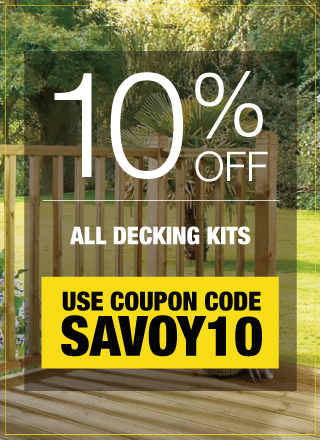 10% Off All Decking Kits