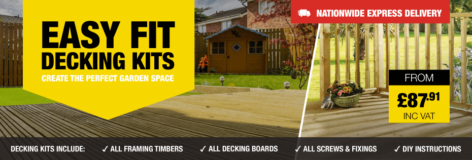 Easy Fit Decking Kits
