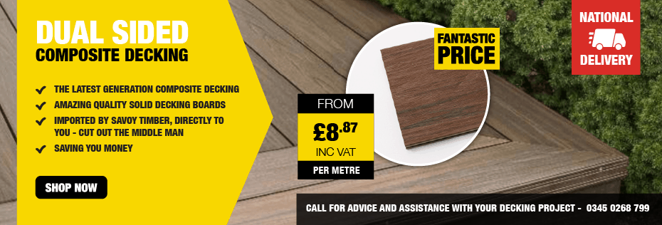 Dual Sided Composite Decking