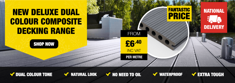 Dual Tone Composite Decking Boards