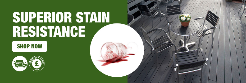 Superior Stain Resistance
