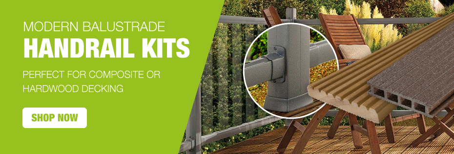 Modern Balustrade Handrail Kits