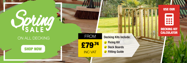 Decking cheap garden decking boards kits savoy timber for Garden decking for sale