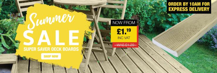 Summer Sale | Super Saver Deck Boards