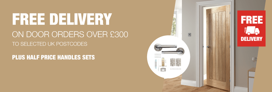 Free Delivery On All Doors Over £300