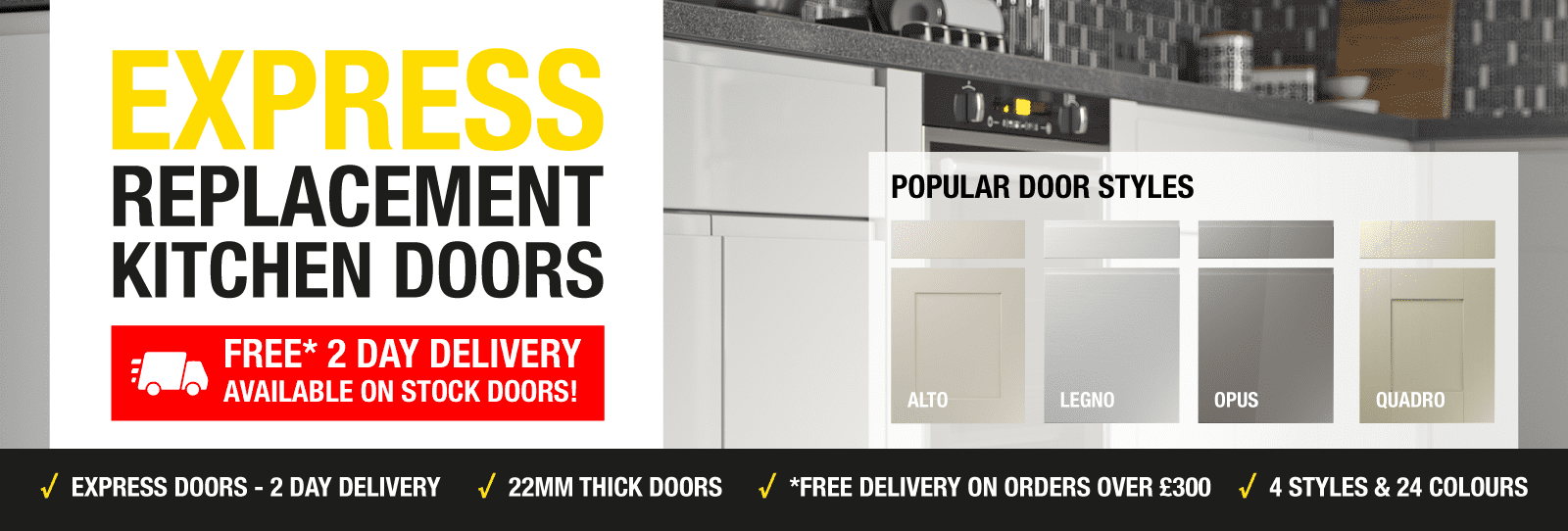 Express Replacement Kitchen Doors