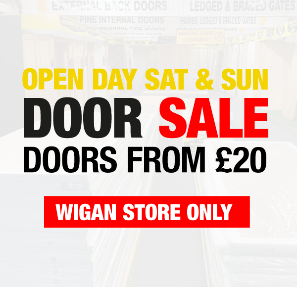 Doors from £20 at Wigan Store Only