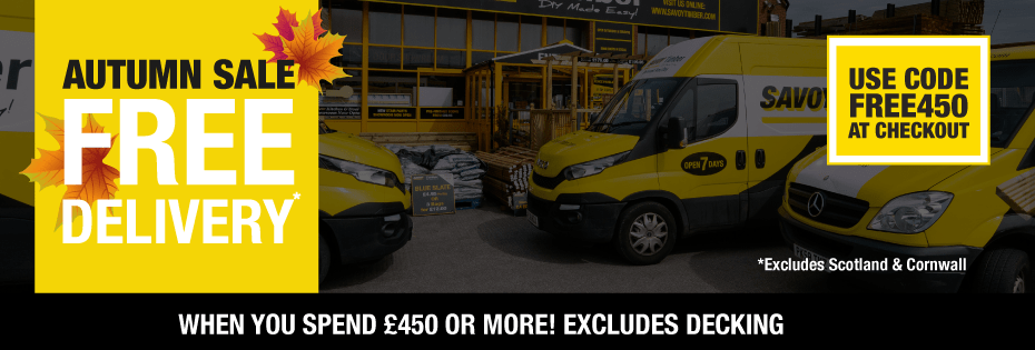 Free Delivery On All Orders Over £450