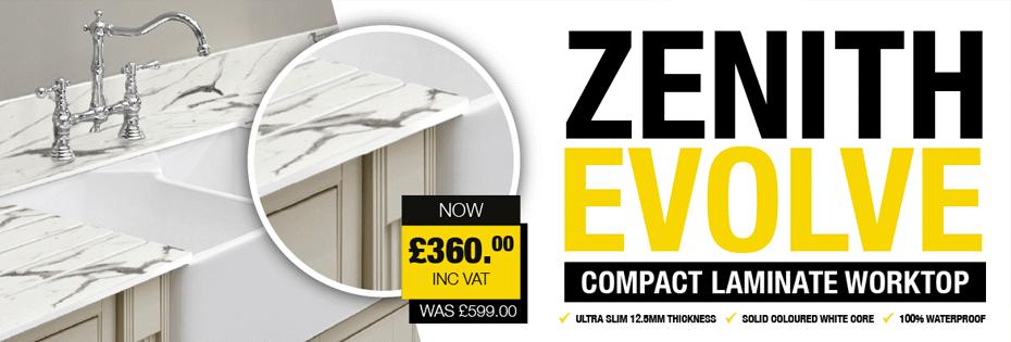 Zenith Evolve Compact Worktops