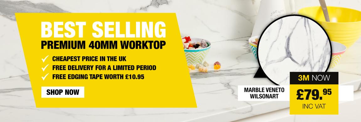 Best Selling Premium 40MM Worktop
