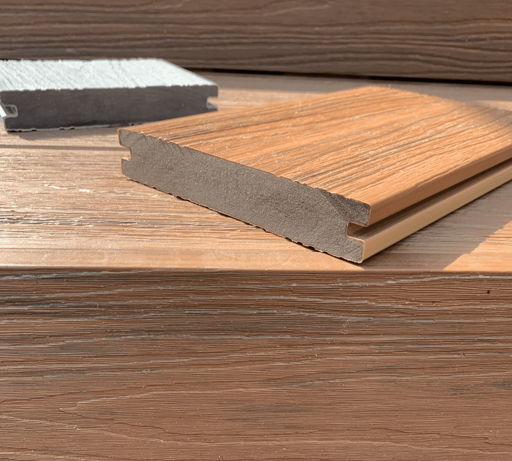 Composite decking quality Engineered to last