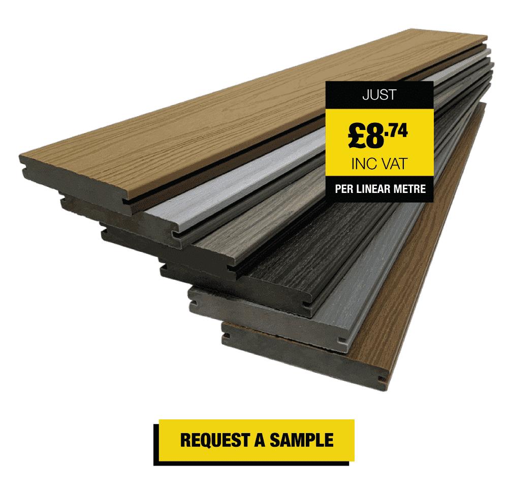 Premium Solid Core Composite Decking