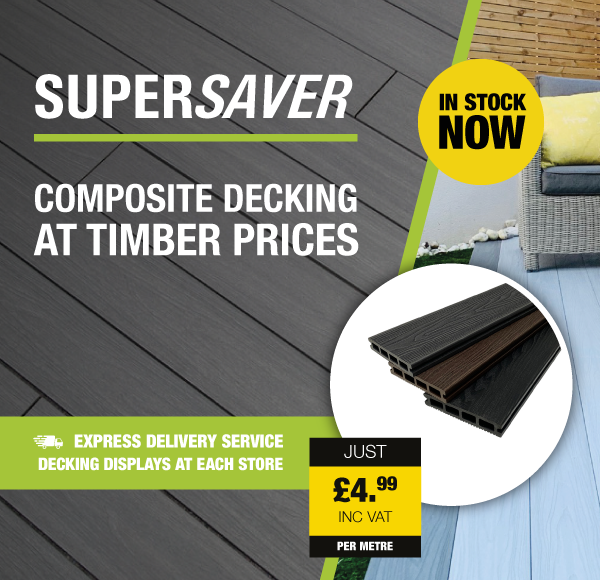 SuperSaver Composite Decking At Timber Prices