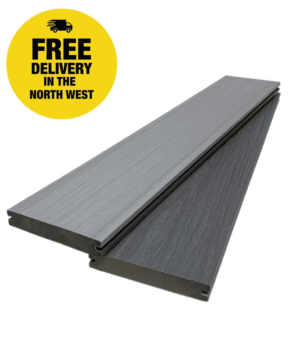 UltraCore Slate Grey Composite Decking Boards