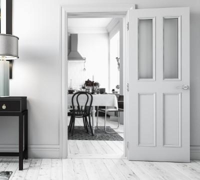 white primed internal doors