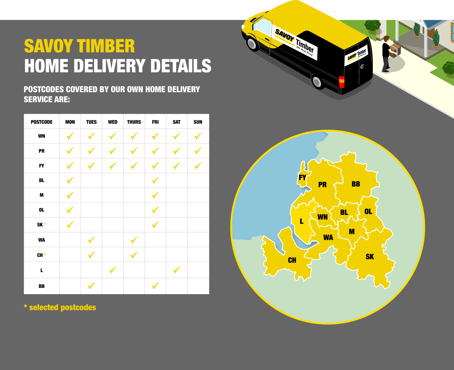 Savoy Home Delivery