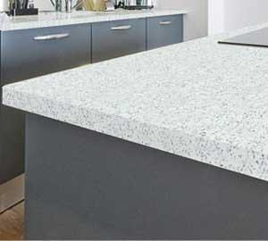 sparkle effect kitchen worktops