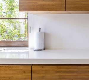square edge kitchen worktops
