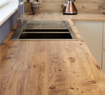 wood effect kitchen worktops