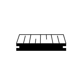 Solid Core Decking Boards