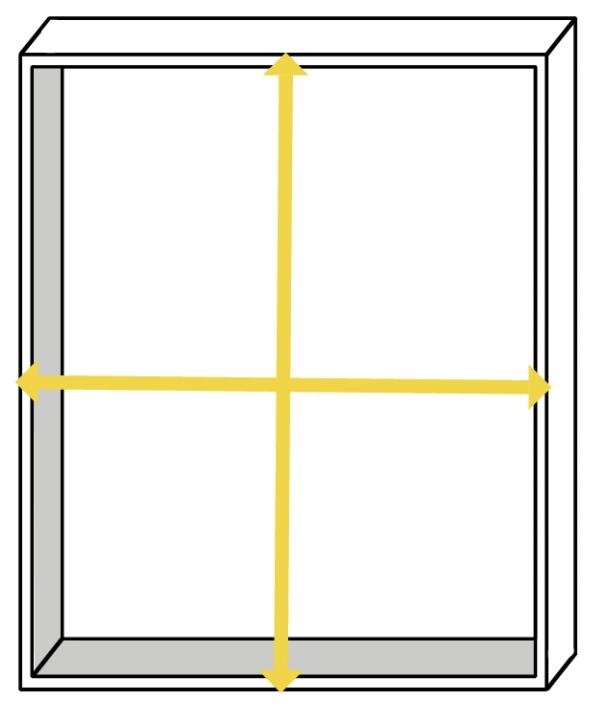 Measure a kitchen unit
