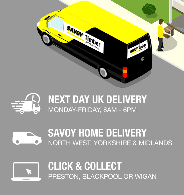 Delivery 7 days a week