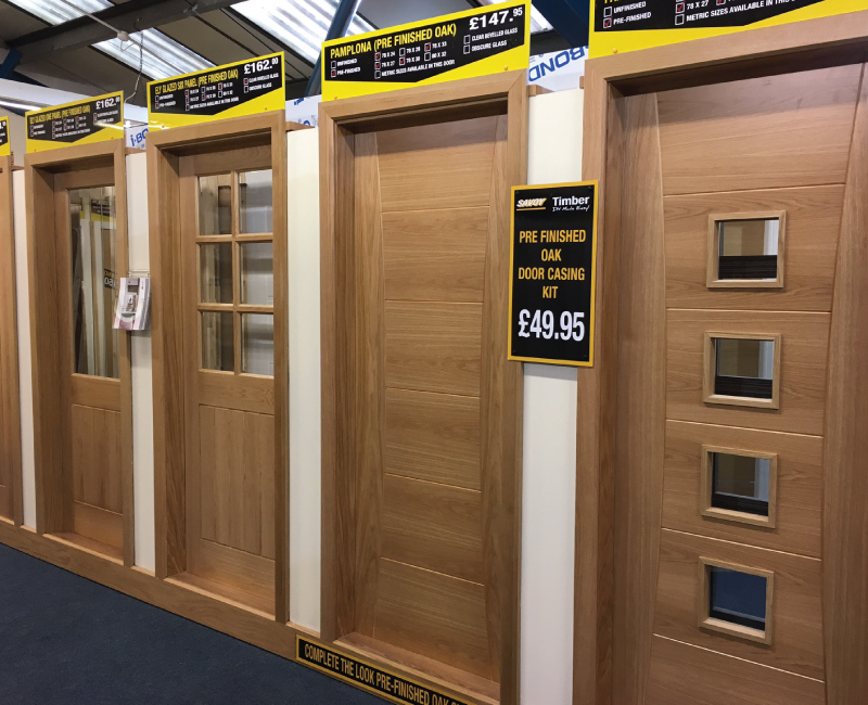 Internal Doors & Blackpool Store | DIY Store Details | Savoy Timber